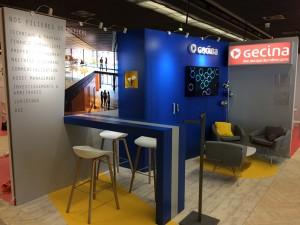 Stand Gecina_Forum des Métiers de l'Immobilier_2017